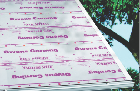 Owens Corning, Deck Defense, roof underlayment, 101 best new products