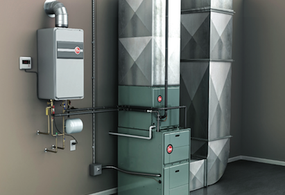 Rheem, Rheem Integrated Heating & Water Heating System, 101 best new products
