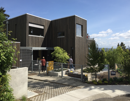 net zero energy home design by Hammer & Hand, in Portland, Ore.