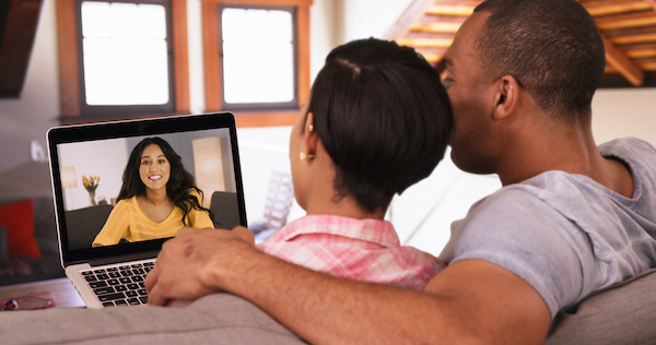 Video chat with realtor