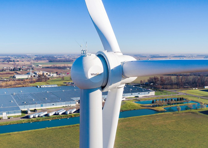 Whirlpool Corporation on-site wind energy